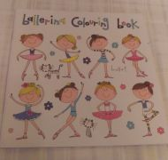 Ballet colouring book